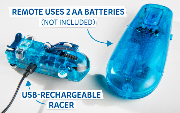 USB-rechargeable racer