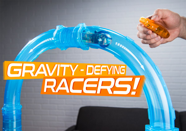 Gravity defying racing